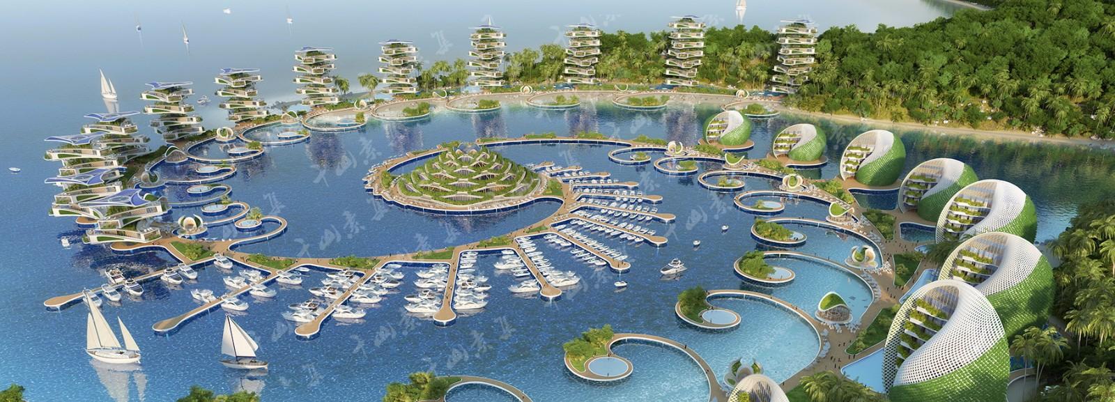 生態綠化,旅游勝地,城市設計