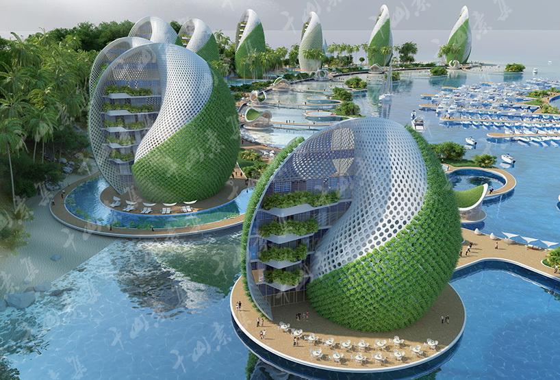 生态绿化,旅游胜地,城市设计