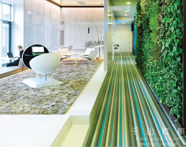 走廊植物墙