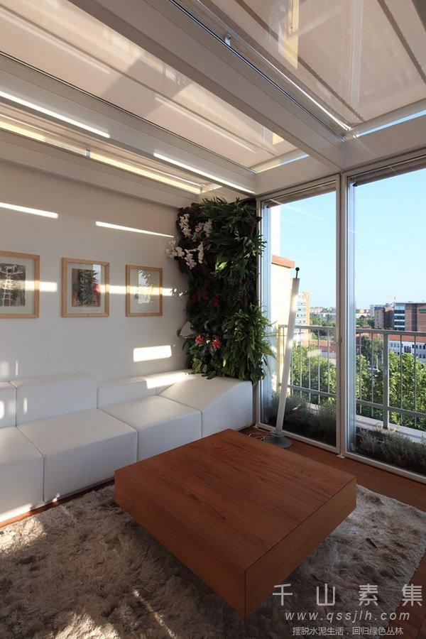 别墅植物墙,植物墙建筑,植物墙景观