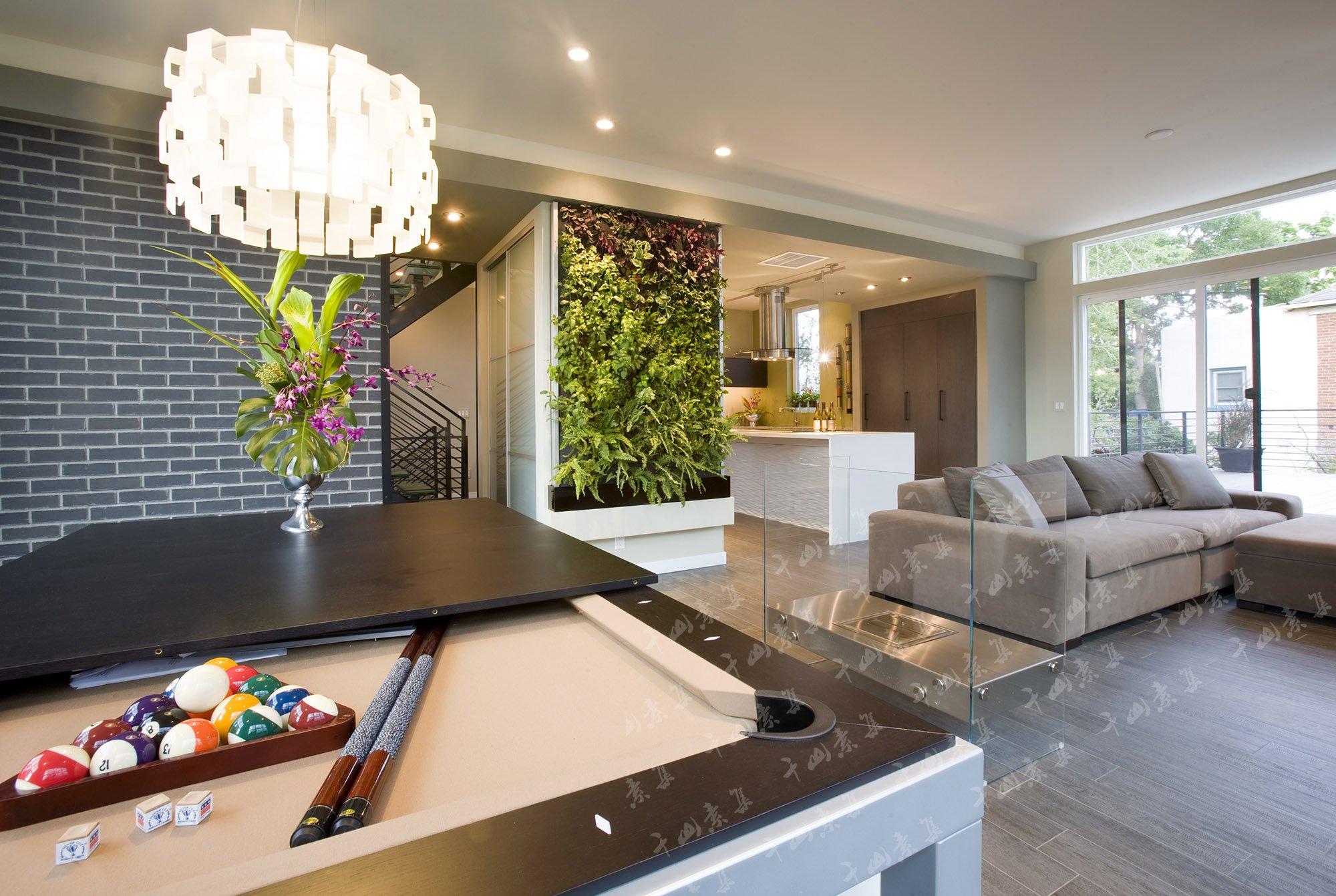 家庭植物墙,室内植物墙,家居绿植,室内景观