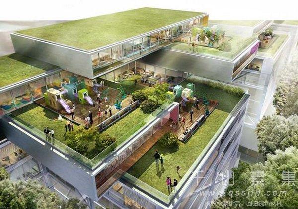 屋顶花园,屋顶花园施工