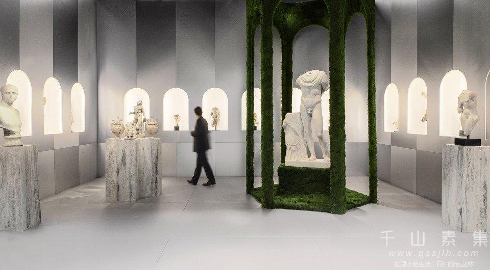 画廊植物墙,巴黎植物墙