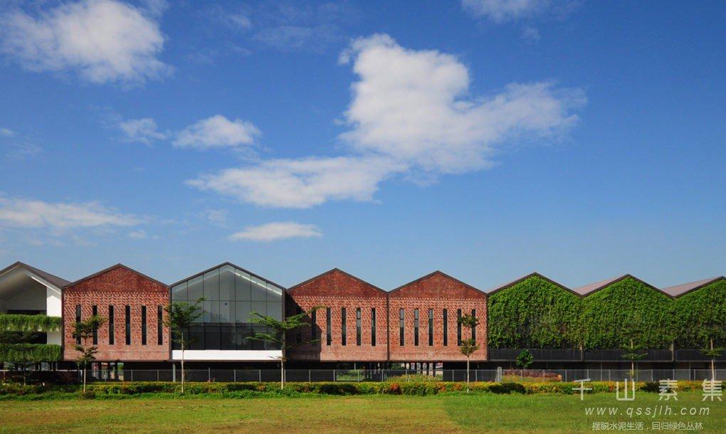 植物墙建筑,植物墙设计,植物墙景观