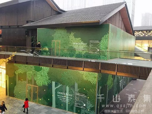 咖啡馆植物墙,悦诗风吟咖啡馆,植物墙设计,植物墙景观