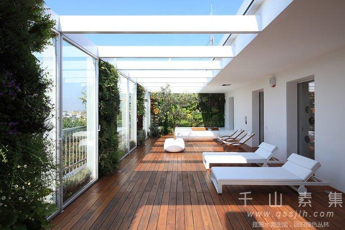 公寓植物墙