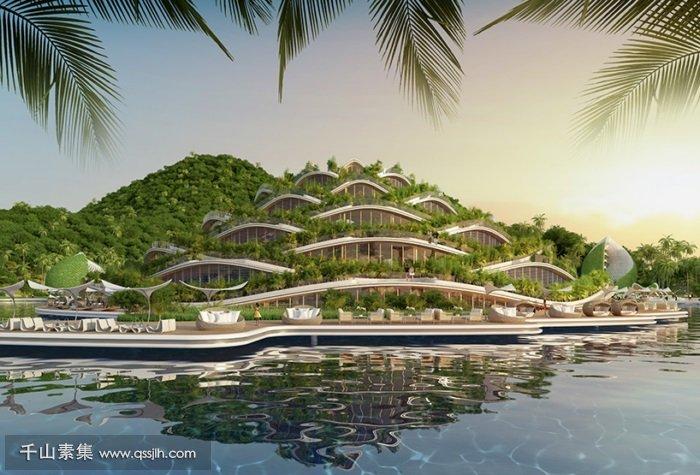 度假村立体绿化
