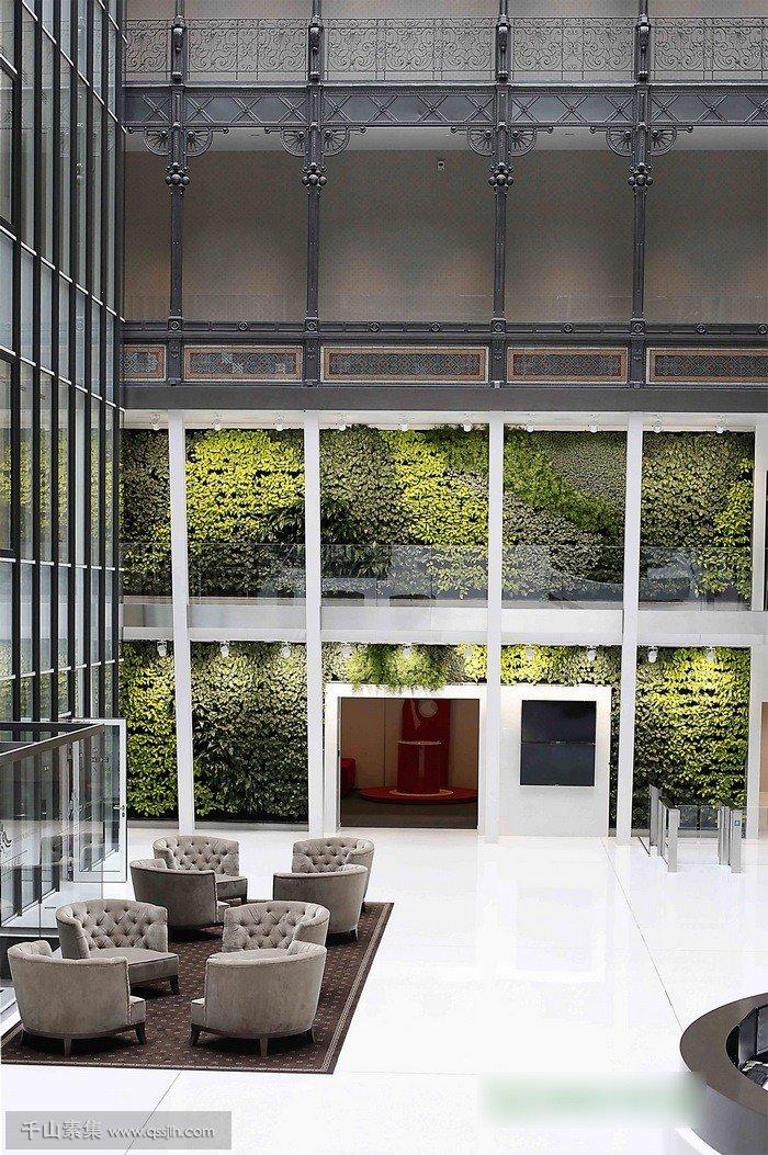 埃菲尔宫植物墙