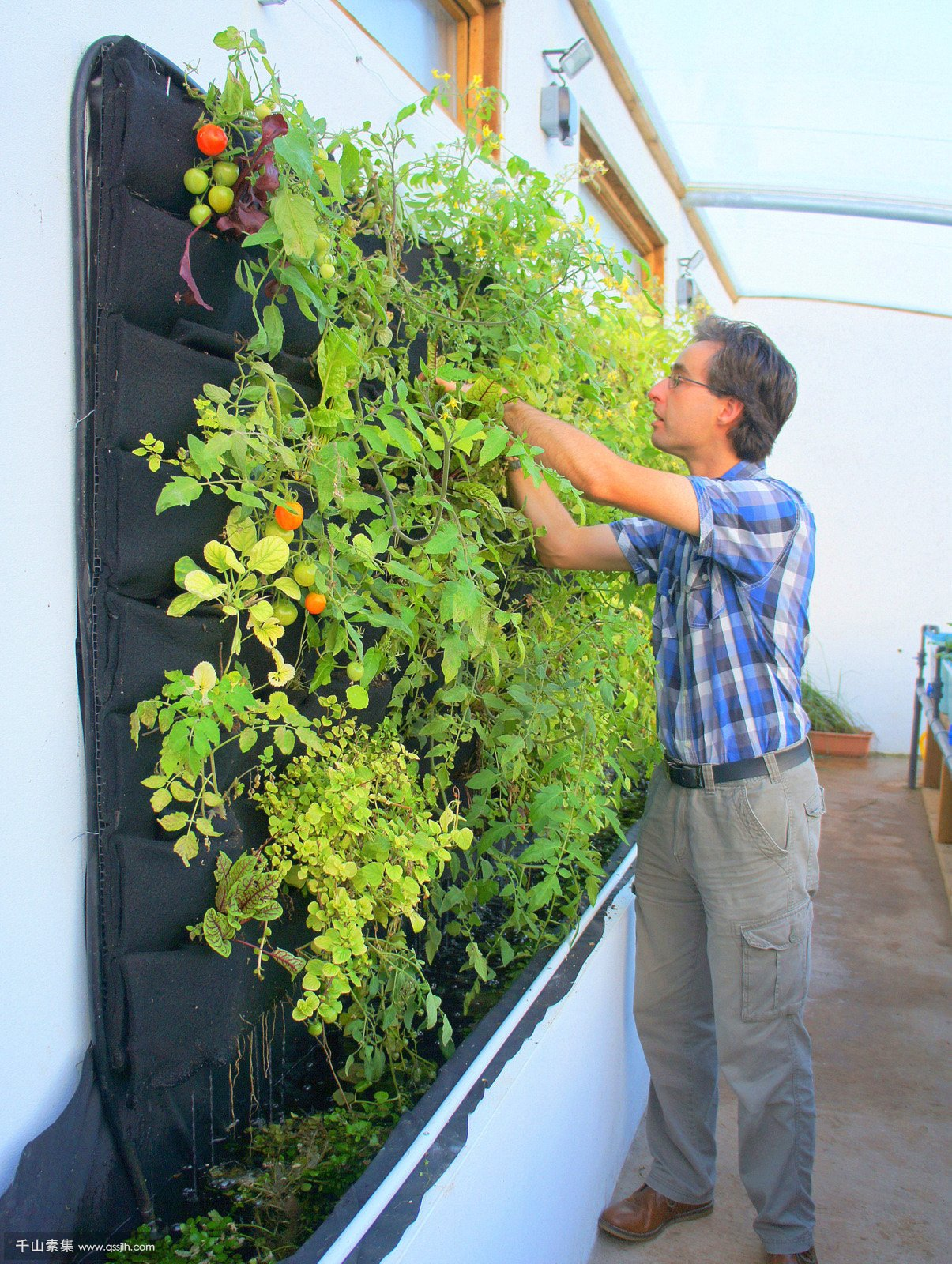 kate-humble-aquaponics-uk-florafelt-vertical-garden-planters-3.jpg